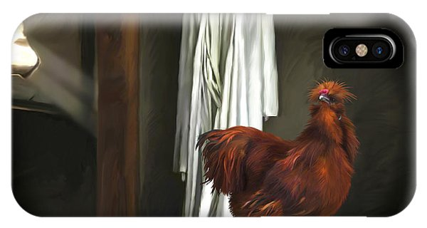 18. Red Rooster IPhone Case