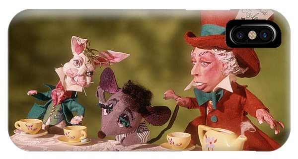 1860s Mad Hatters Tea Party From Alice IPhone Case