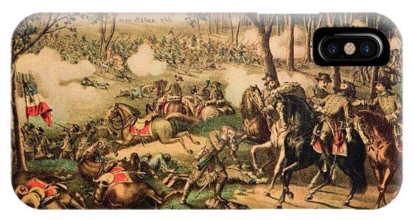 Allison iPhone Case - 1863 Battle Of Chancellorsville By Kurz by Vintage Images