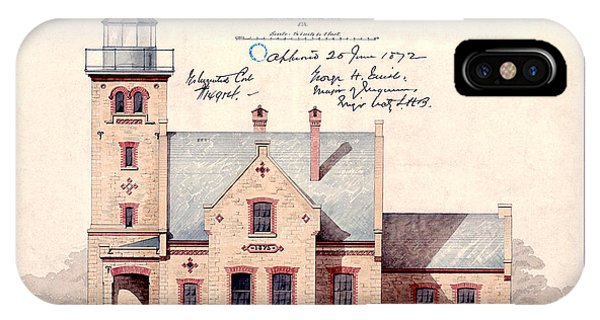 1872 Erie Harbor Lighthouse IPhone Case