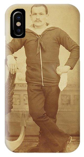 1880s Italian Sailor IPhone Case