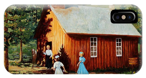 1896 School House IPhone Case