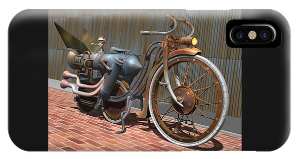 1899 Inline Steam Trike IPhone Case