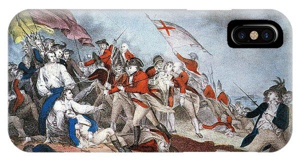 Bunker Hill Flag Iphone Cases Fine Art America