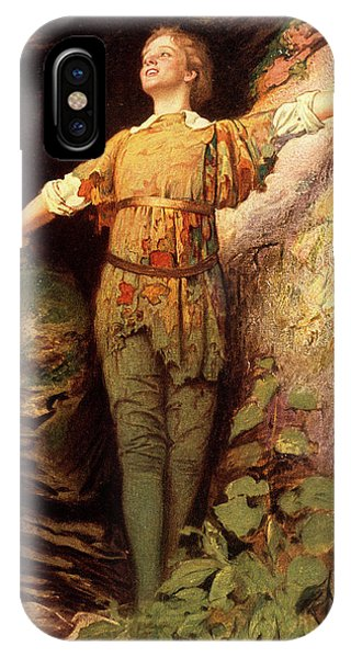Child Actress iPhone Case - 1900s Painting Of Actress Maude Adams by Vintage Images