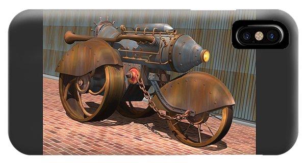 1902 Steam Trike IPhone Case