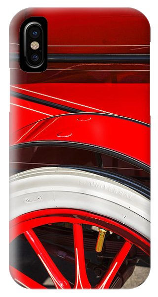 1903 Pope Hartford B Wheel Abstract IPhone Case