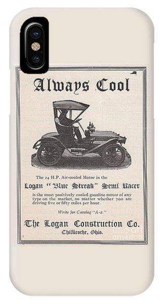 1905 Logan Automobile Poster IPhone Case