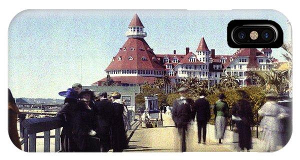 1906 Del Boardwalk IPhone Case