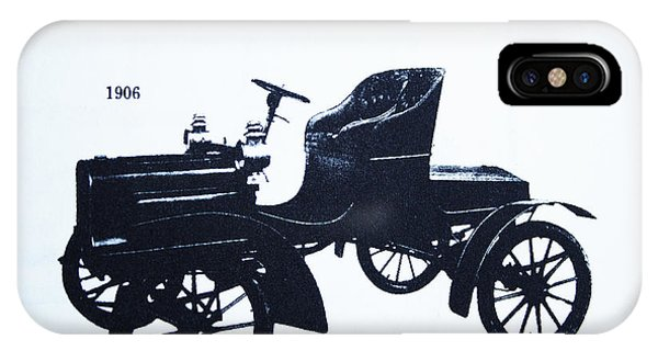 1906 Walker Runabout IPhone Case