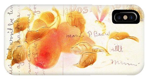 1907 Vintage Pears Postcard IPhone Case
