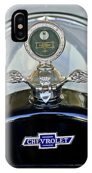 1915 Chevrolet Touring Hood Ornament IPhone Case