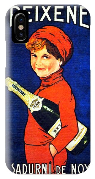 1920 - Freixenet Wines - Advertisement Poster - Color IPhone Case