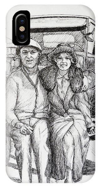 1920s Couple IPhone Case