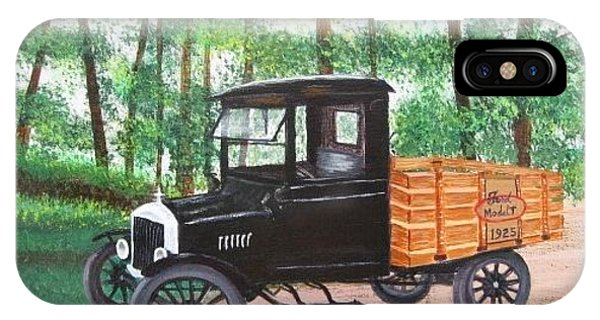 1925 Model T Ford IPhone Case