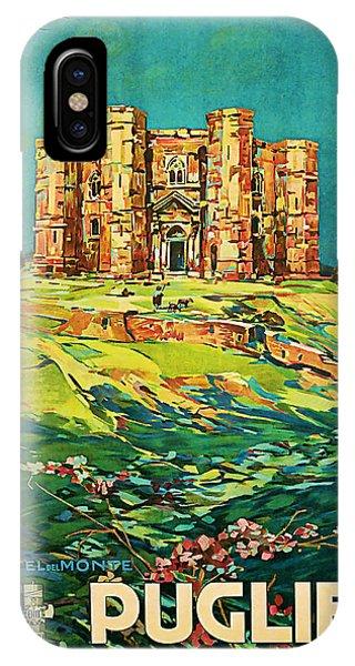 1925 Puglie Vintage Travel Art IPhone Case
