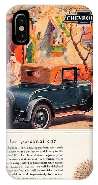 1927 - Chevrolet Advertisement - Color IPhone Case
