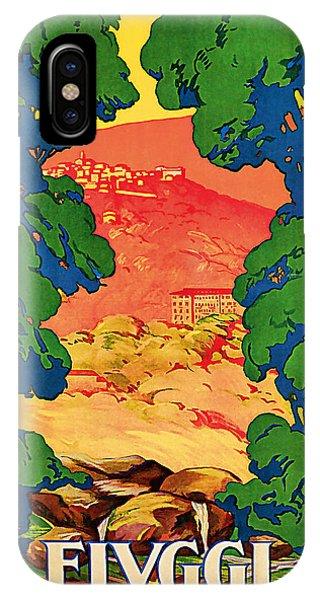1928 Fivggi Vintage Travel Art IPhone Case