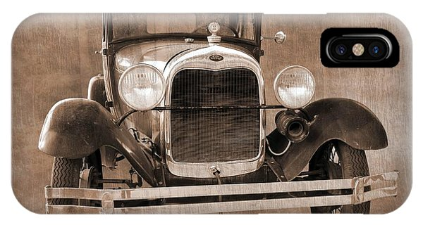 1928 Ford Model A Coupe IPhone Case