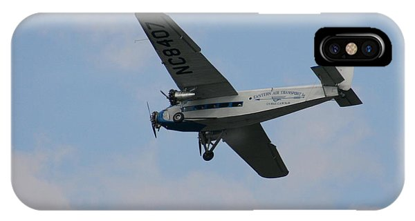 1929 Ford Tri Motor Mail Plane Side IPhone Case