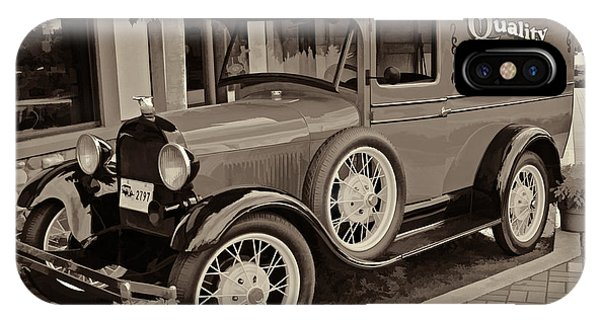 1930 Ford Panel Truck IPhone Case