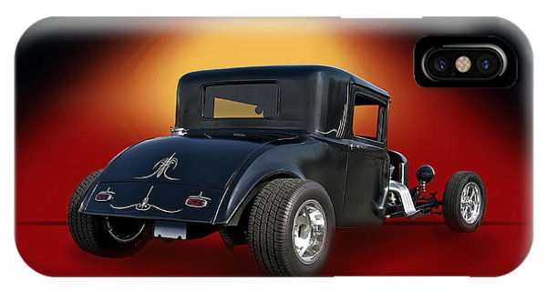 1930 Hudson Hot Road Coupe IIi Phone Case by Dave Koontz