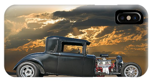 1930 Hudson Hot Rod Coupe II Phone Case by Dave Koontz