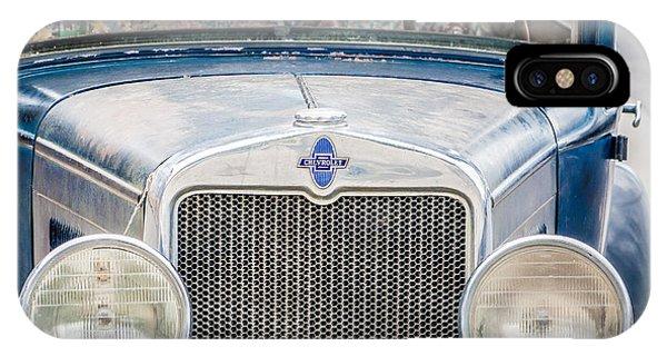1930's Chevy Headlights IPhone Case