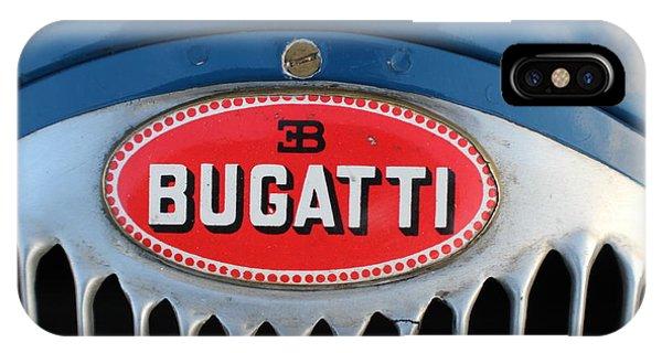1930's Ettore Bugatti IPhone Case