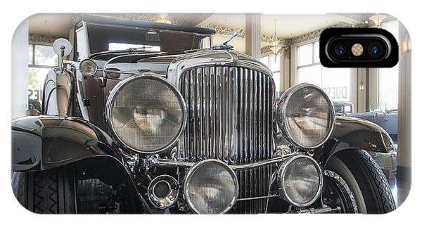 1931 Duesenberg Model J Convertible Coupe IPhone Case