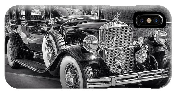 1931 Pierce Arrow Black And White IPhone Case