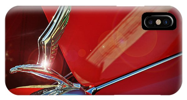1933 Chevrolet Hood Ornament IPhone Case