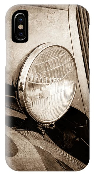 Coupe iPhone Case - 1933 Ford Coupe Hot Rod by Jill Reger