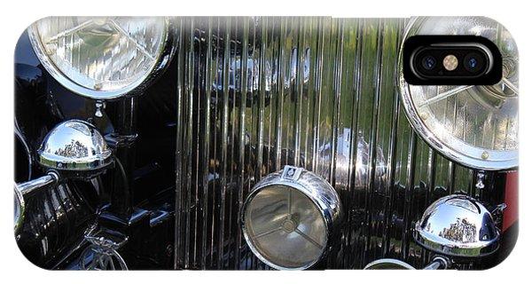 1933 Rolls Royce Phantom II Front Assembly Phone Case by Mark Steven Burhart