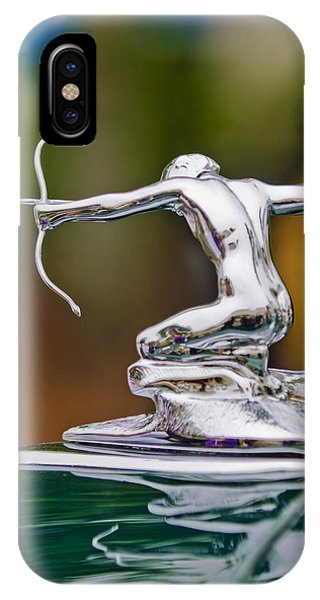 1935 Pierce-arrow 845 Coupe Hood Ornament IPhone Case