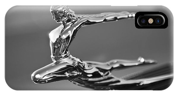 1935 Pontiac Sedan Hood Ornament 4 IPhone Case