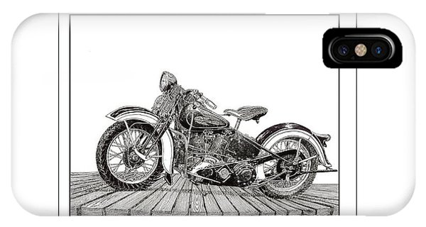 1936 Harley Knucklehead IPhone Case