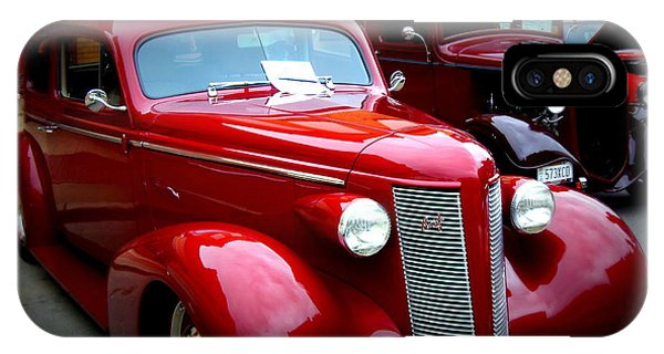 1937 Buick 8 Phone Case by Willy  Nelson