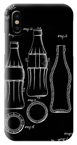 Beverage iPhone Case - 1937 Coca Cola Bottle by Mark Rogan