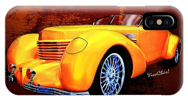 1937 Cord Coffin Nose Speedster Concours On Toast IPhone Case