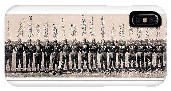 1937 Washington Redskins Team Photo Phone Case by Unknown