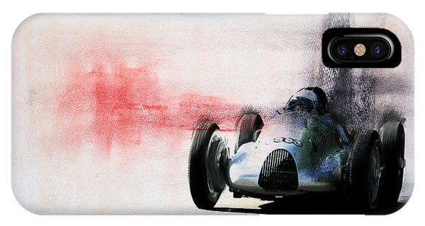 1938 Auto Union Type D IPhone Case