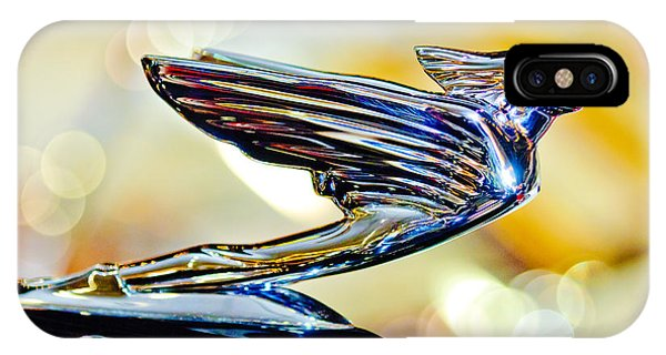 1938 Cadillac V-16 Hood Ornament 2 IPhone Case