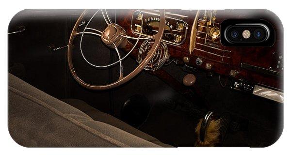 1938 Chevrolet Interior IPhone Case