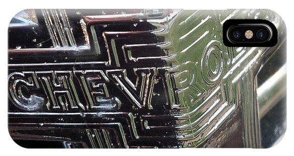 1938 Chevrolet Sedan Emblem IPhone Case