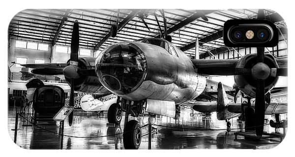 1940 Martin B-26 Marauder In Hdr  IPhone Case
