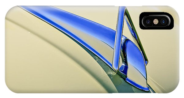 1949 Hudson Super Six  Hood Ornament IPhone Case