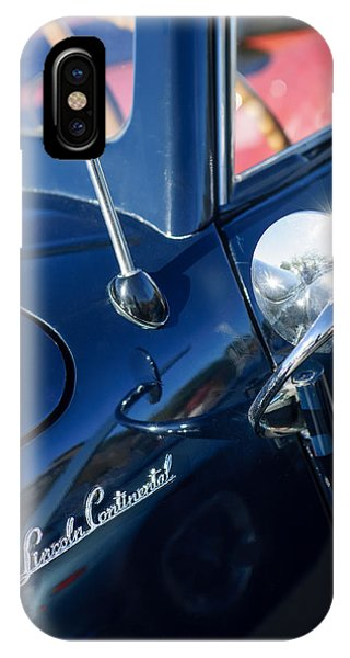 Lincoln Continental iPhone Case - 1941 Lincoln Continental Convertible Emblem by Jill Reger