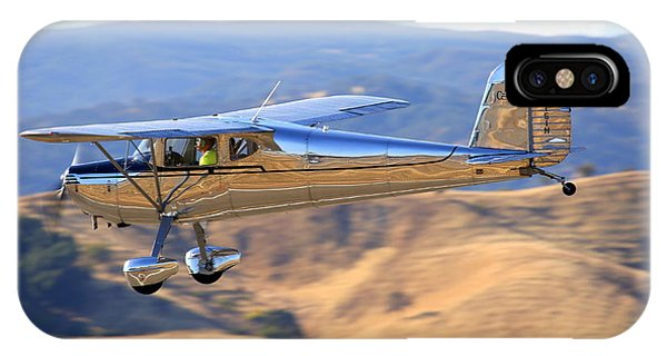 1947 Cessna 140 Fly-by N4151n IPhone Case