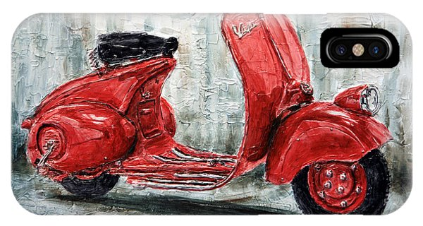 1947 Vespa 98 Scooter IPhone Case